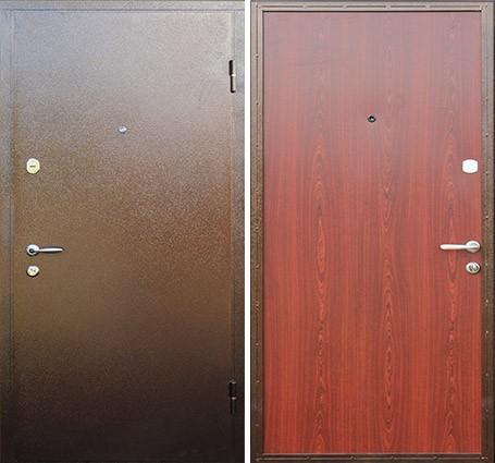 металлические двери с порошковым напылением