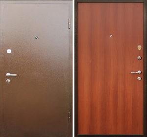 двери порошковые металлические