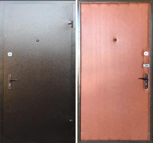 двери с порошковым напылением