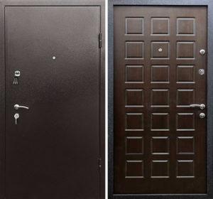 металлические двери недорого с установкой