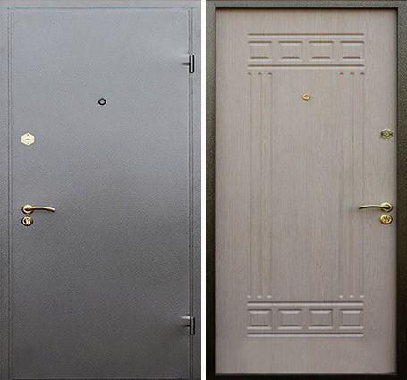 двери с напылением порошковым