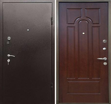 стальные двери мдф цены