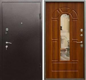 входные двери с зеркалом недорого