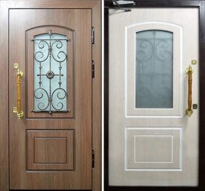 стальные двери в частный дом
