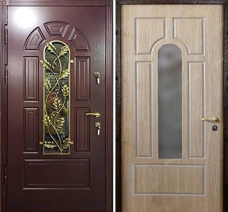 двери в коттедж