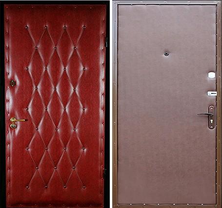 двери с винилискожей с двух сторон