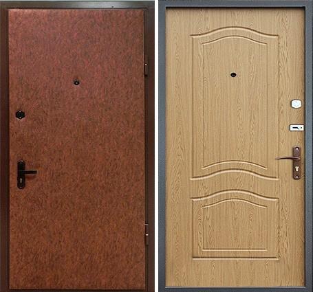 двери с винилискожей утепленные