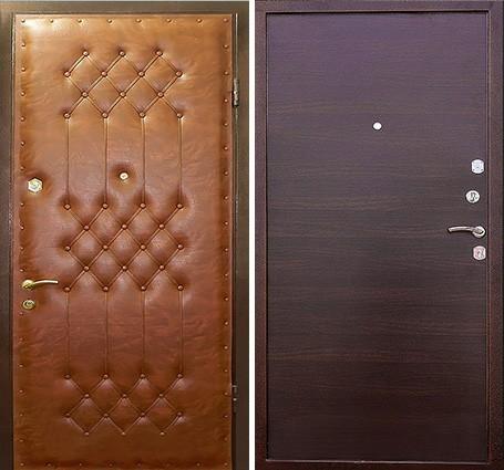 двери входные с винилискожей