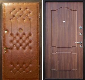 входные двери с винилискожей и мдф панелью
