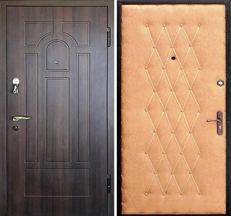 входные двери с мдф панелями и винилискожей