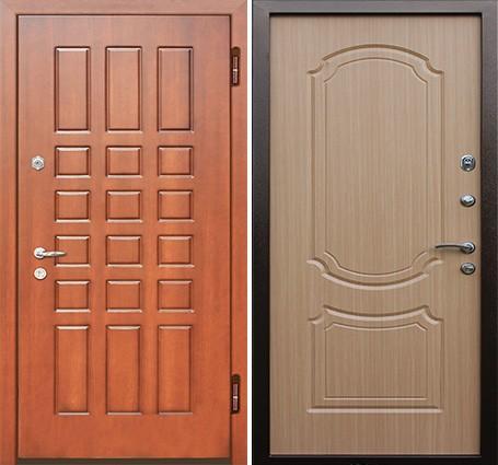 железные двери мдф