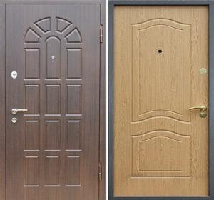 стальные двери мдф недорого