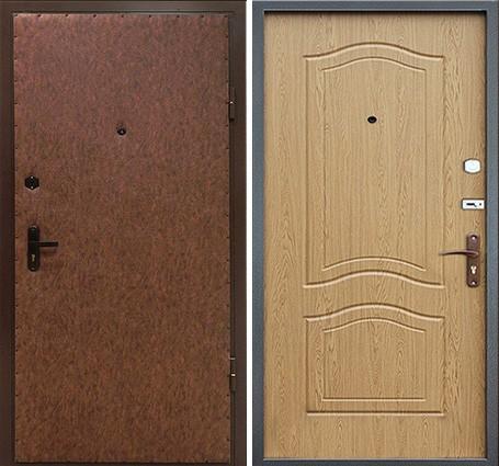 входные двери с мдф панелями