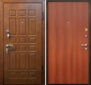 стальные двери с мдф накладками