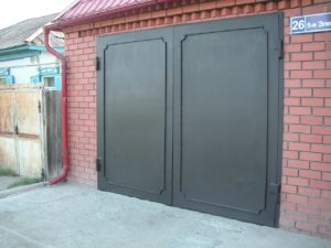 гаражные ворота металлические