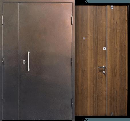 двери на лестничную площадку