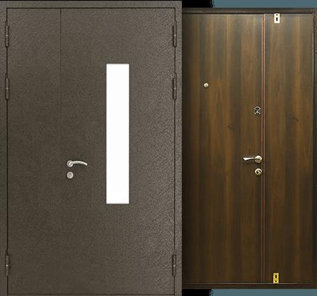 тамбурные двери со стеклом