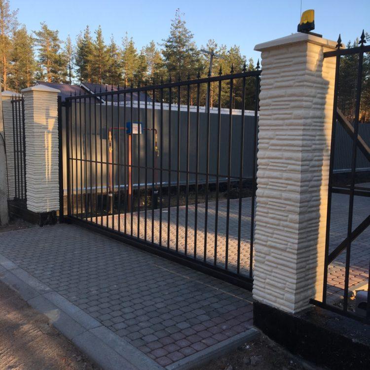 сварной забор фото