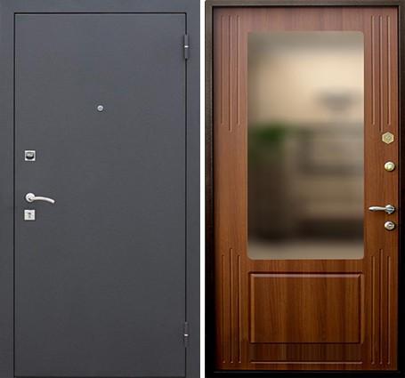 входные двери с зеркалом внутри