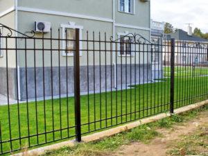 забор сварной секционный для дачи