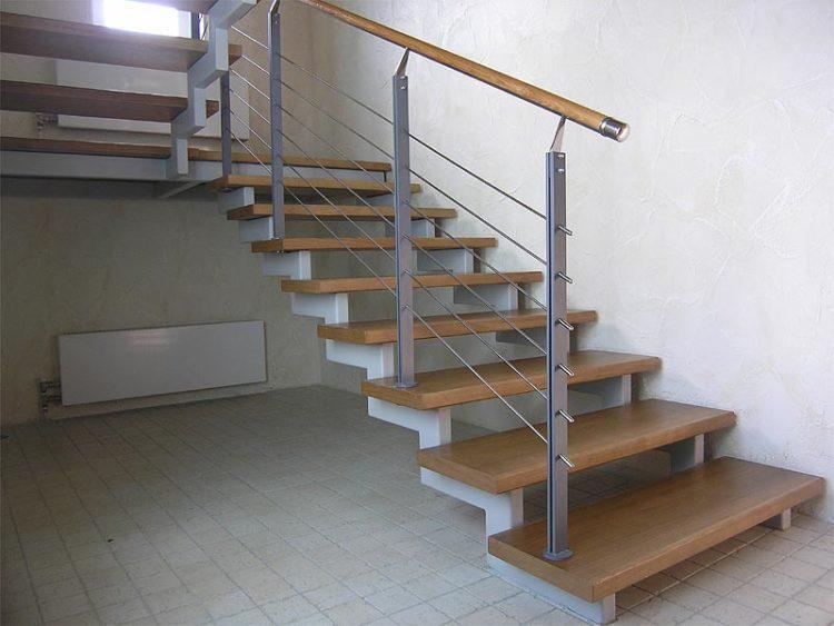 оригинальные ограждения для лестницы