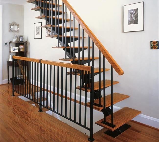 металлокаркас лестницы на монокоссоуре