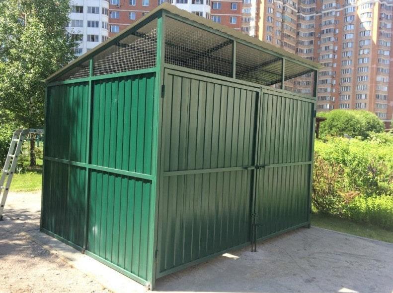 контейнерная площадка для мусора