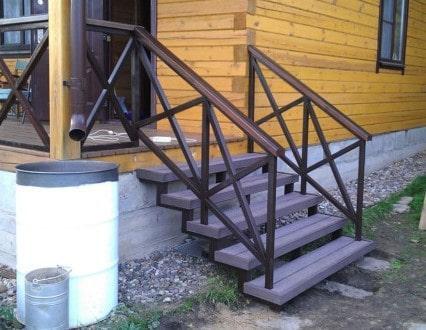 уличные лестницы для крыльца
