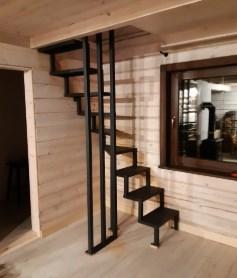 лестница для небольших помещение