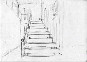 черновик лестницы