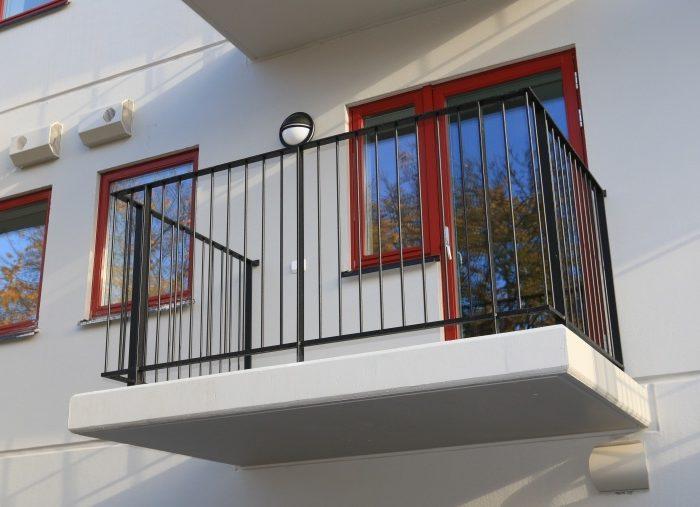 ограждение балкона №1