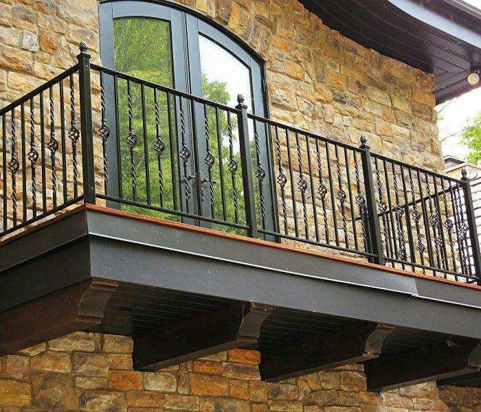 ограждение балкона 2