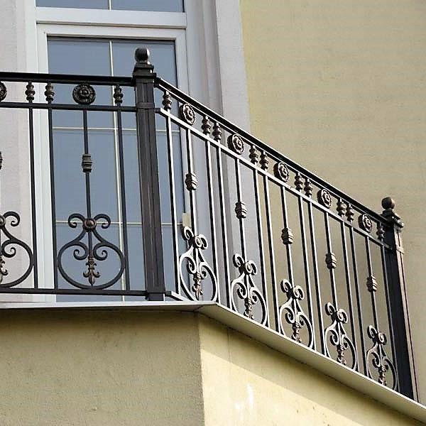 балконное ограждение из металла