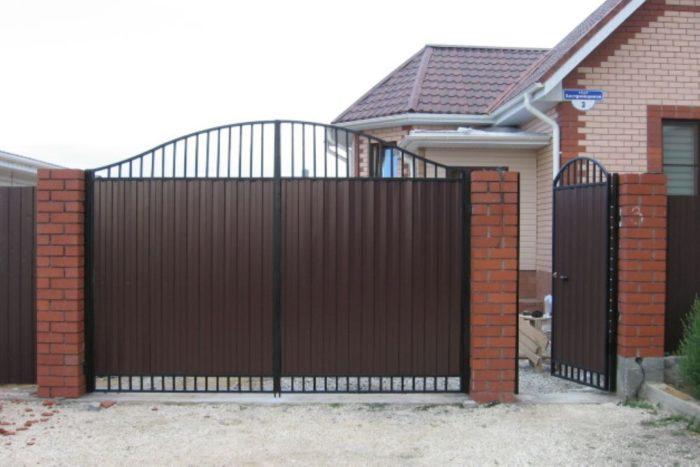 ворота с каликой