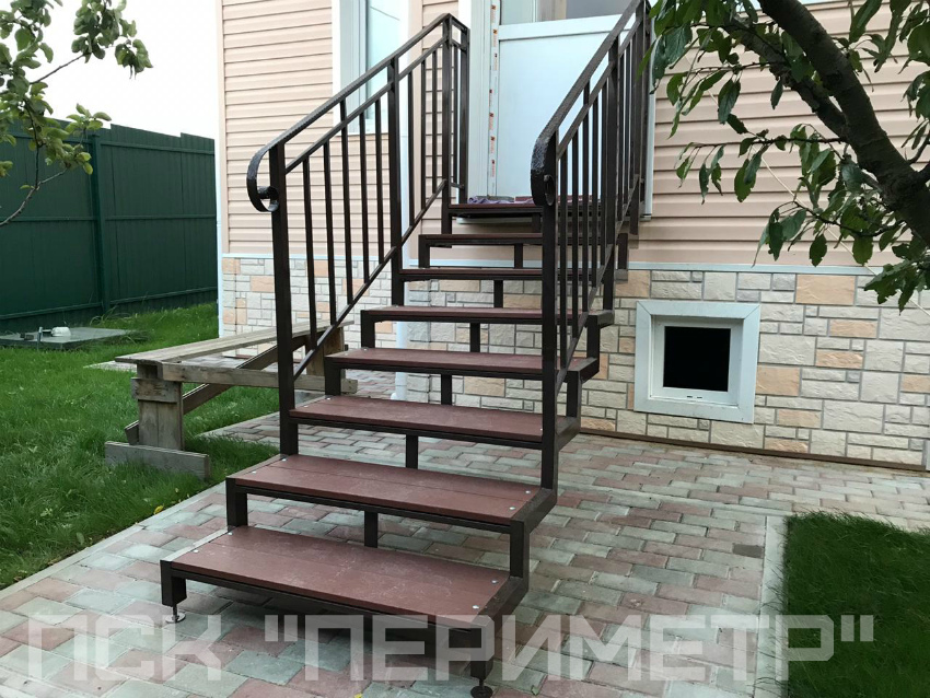 лестницы для крыльца уличная