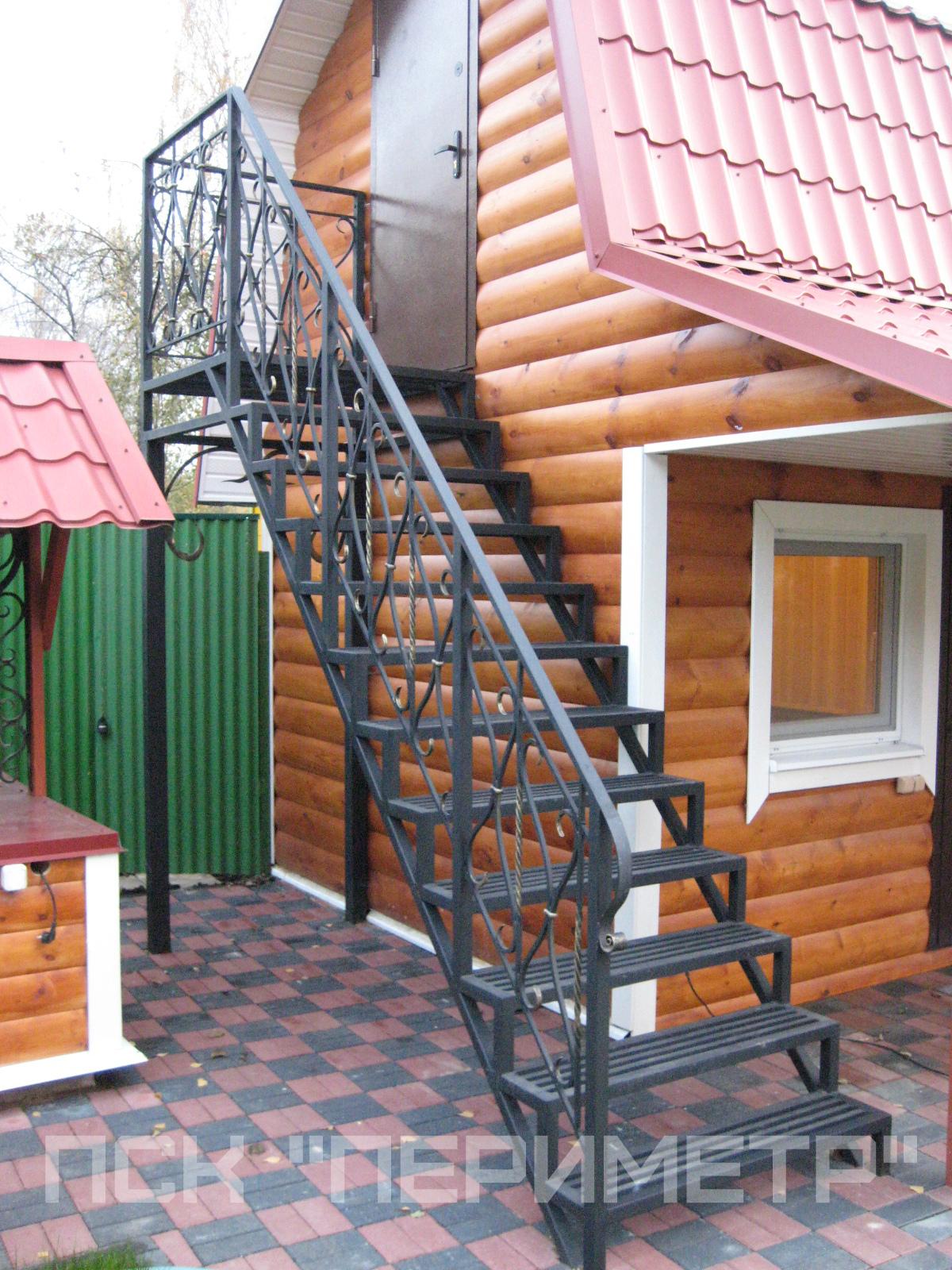уличная лестница для дачи