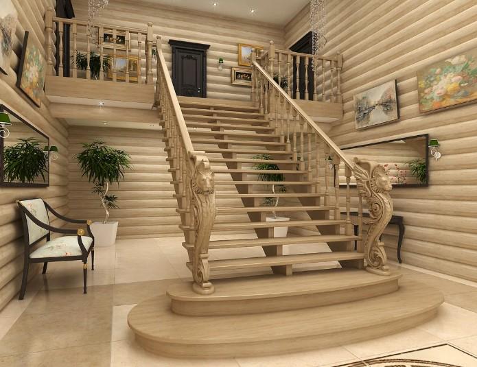 выбор лестниц и материала