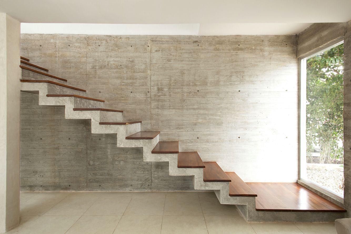 бетон для лестницы