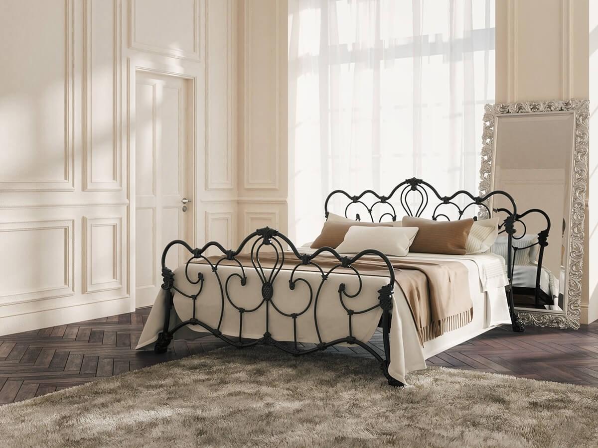 кровать в стиле лофт